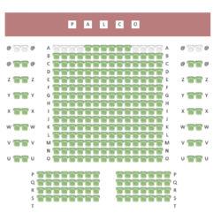 Mapa de assentos - Teatro Folha